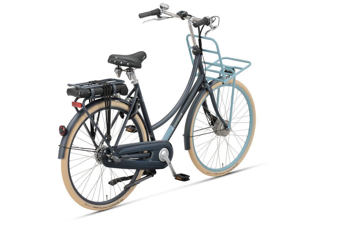 Mooie transportfiets met het voordeel van een e-bike